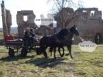 Trénink u hradu Zvířetice