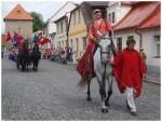 Jan Lucemburský a jarmareční průvod, Bělá p. B. (2012)